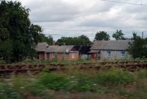 Ukraina - Podróż Lwów-Symferopol - Krajobraz z pociągu