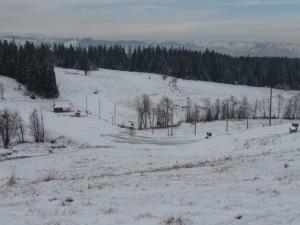 Wyciąg narciarski na ulicy Budzowej